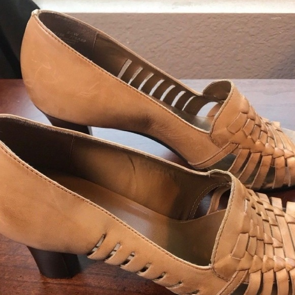 374c2f0e38 Naturalizer Shoes | Womens Open Toe Heels 85 W Wide Width | Poshmark